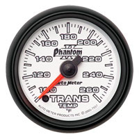 TRANSMISSION TEMP GAUGE (100-260 DEG - FULL SWEEP) AUTOMETER - PHANTOM II SERIES