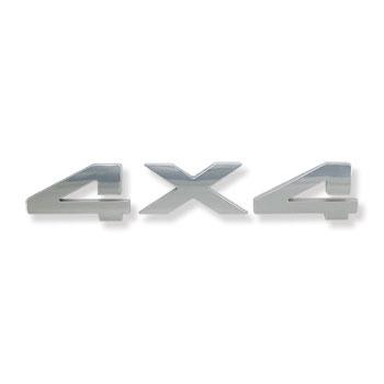 """EMBLEM - """"4 X 4"""" (9-1/8"""" x 1-5/8"""")"""