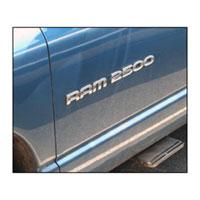 """EMBLEM - """"RAM 2500"""" (19-1/4"""" x 1-3/8"""")"""