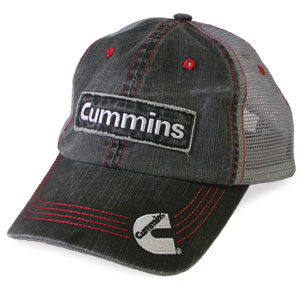 BALL CAP - CUMMINS (DENIM MESH)