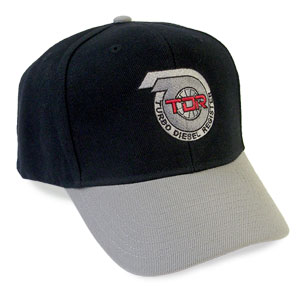BALL CAP - TDR LOGO (HIGH PROFILE)