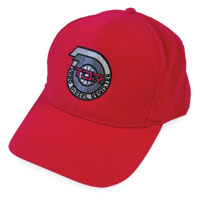 BALL CAP - TDR LOGO (LOW PROFILE - RED)