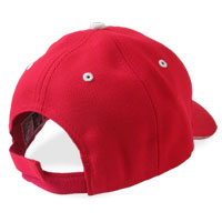 TDR Lo-Rise Red Ball Cap