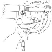 Lisle 38210 Dodge Ram Hub Remover Tool Set