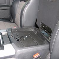 '10-'16 Dodge Ram Laramie Underseat Console Vault