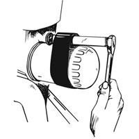 Lisle 63500 Oil Filter Strap Wrench