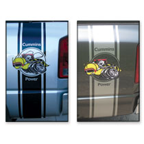 Cummins Bee Truck Decal