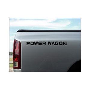 "DECAL - ""POWER WAGON""  (19-3/4"" X 1-5/8"")"