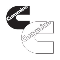 "DECAL - CUMMINS ""C""  (6"" X 6"")"