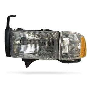 HEADLIGHT - DRIVER SIDE  ('94-'02,  NON-SPORT)