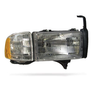 HEADLIGHT - PASSENGER SIDE - DEPO  ('94-'02,  NON-SPORT)