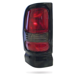 TAIL LIGHT - DRIVER SIDE  ('94-'02, w/BLACK FRAME)