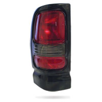 TAIL LIGHT - DRIVER SIDE  ('94-'02, w/BLACK FRAME)