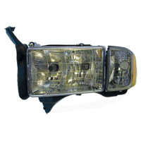 HEADLIGHT - DRIVER SIDE - DEPO  ('99-'02, w/ SPORT PKG)