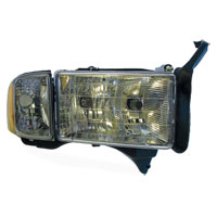 HEADLIGHT - PASSENGER SIDE - DEPO  ('99-'02,  w/SPORT PKG)