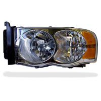 HEADLIGHT - DRIVER SIDE - DEPO  ('03-'05)