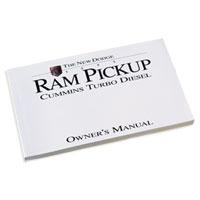 DODGE RAM OWNER'S MANUAL ('95, 2500/3500 - DIESEL)