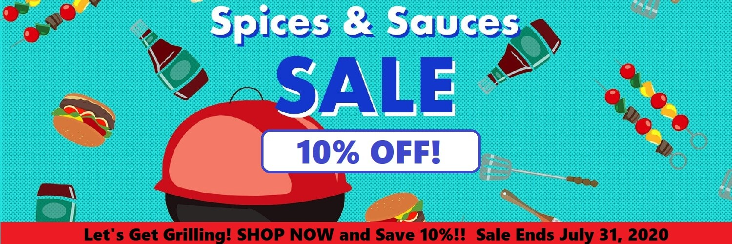 Sauces and Spices Sale