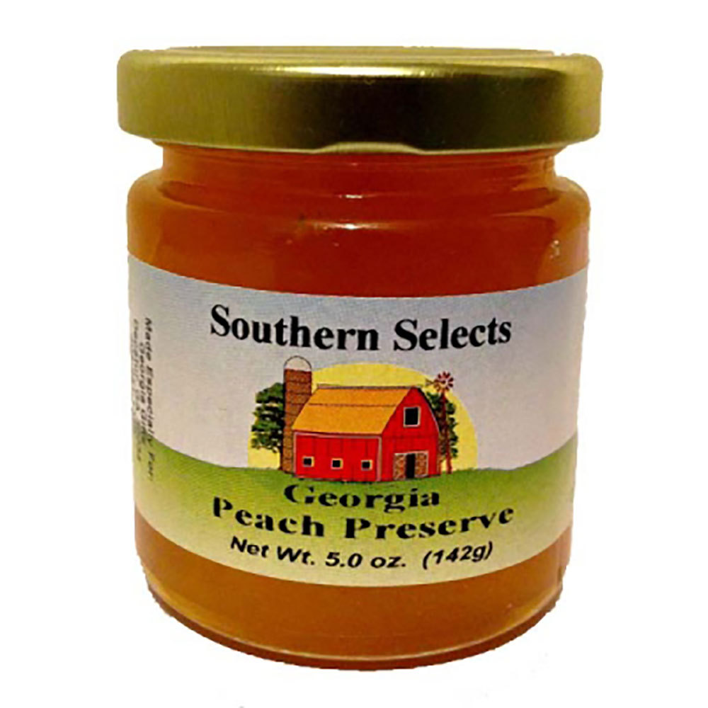 Georgia Peach Preserves Mini (5 oz.)