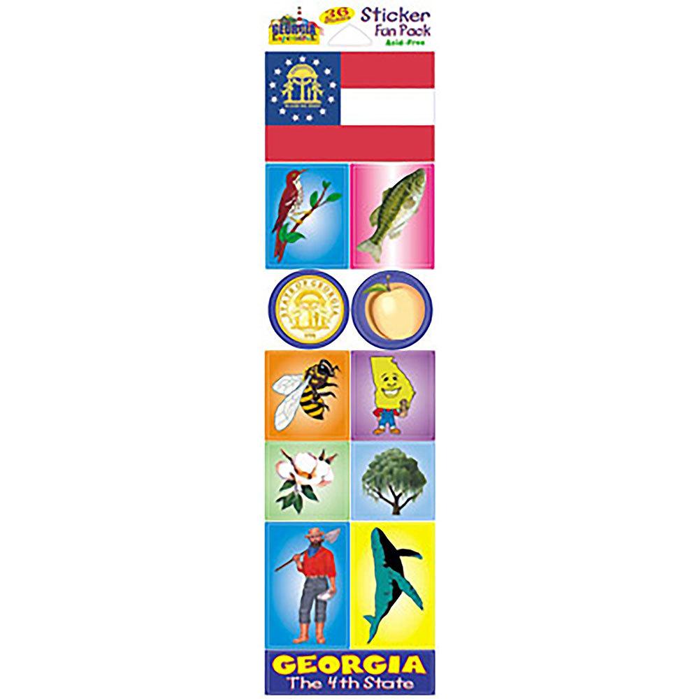 Georgia Experience State Stickers