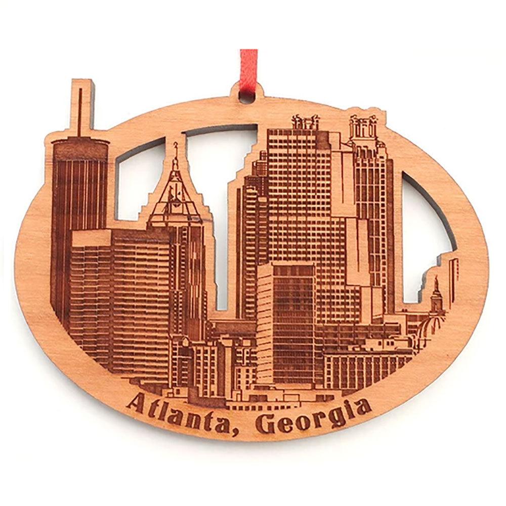 Atlanta Wood Ornament