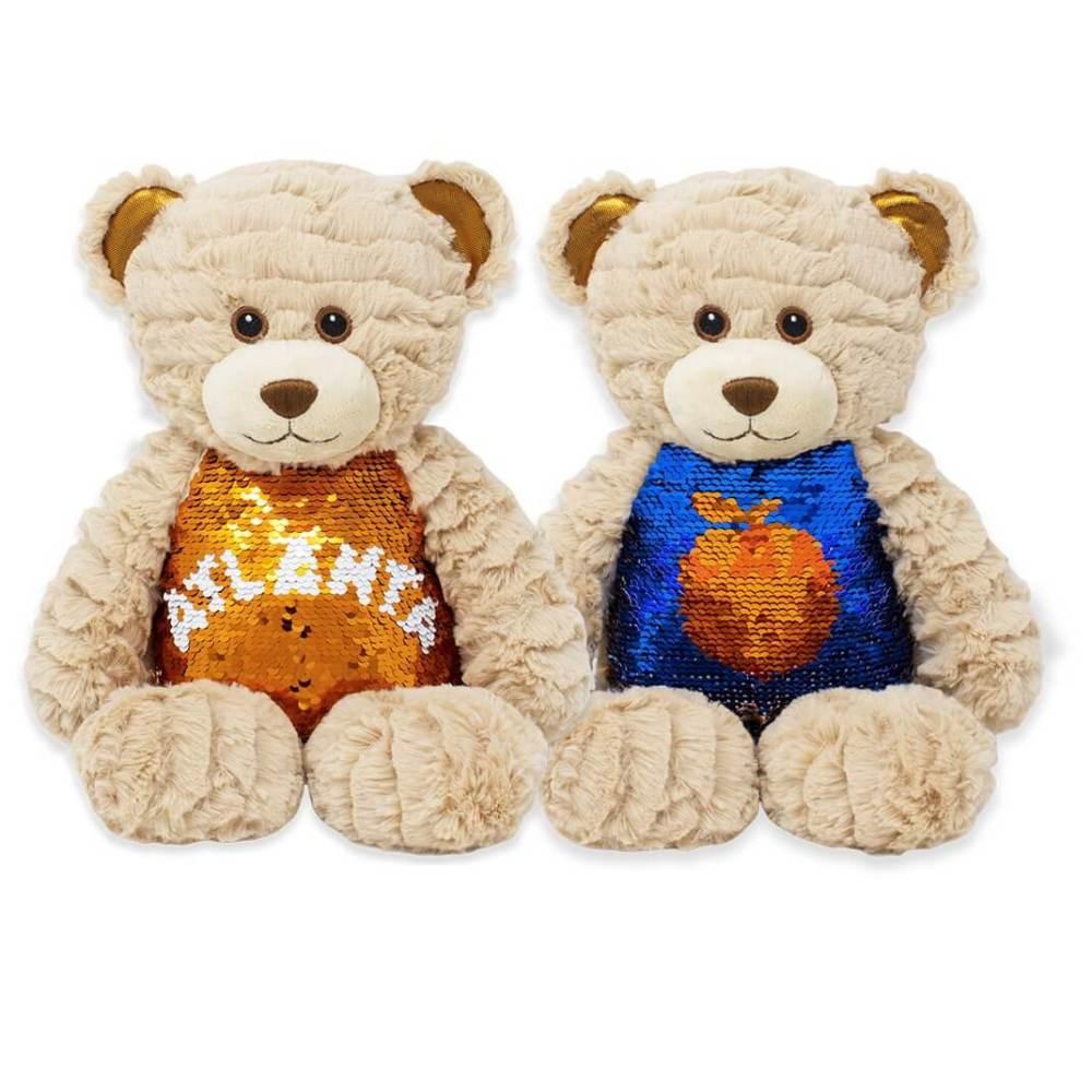 Beary Glitzy Atlanta Sequin Teddy Bear