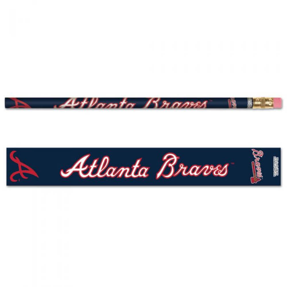 Atlanta Braves Pencils (6-pack)