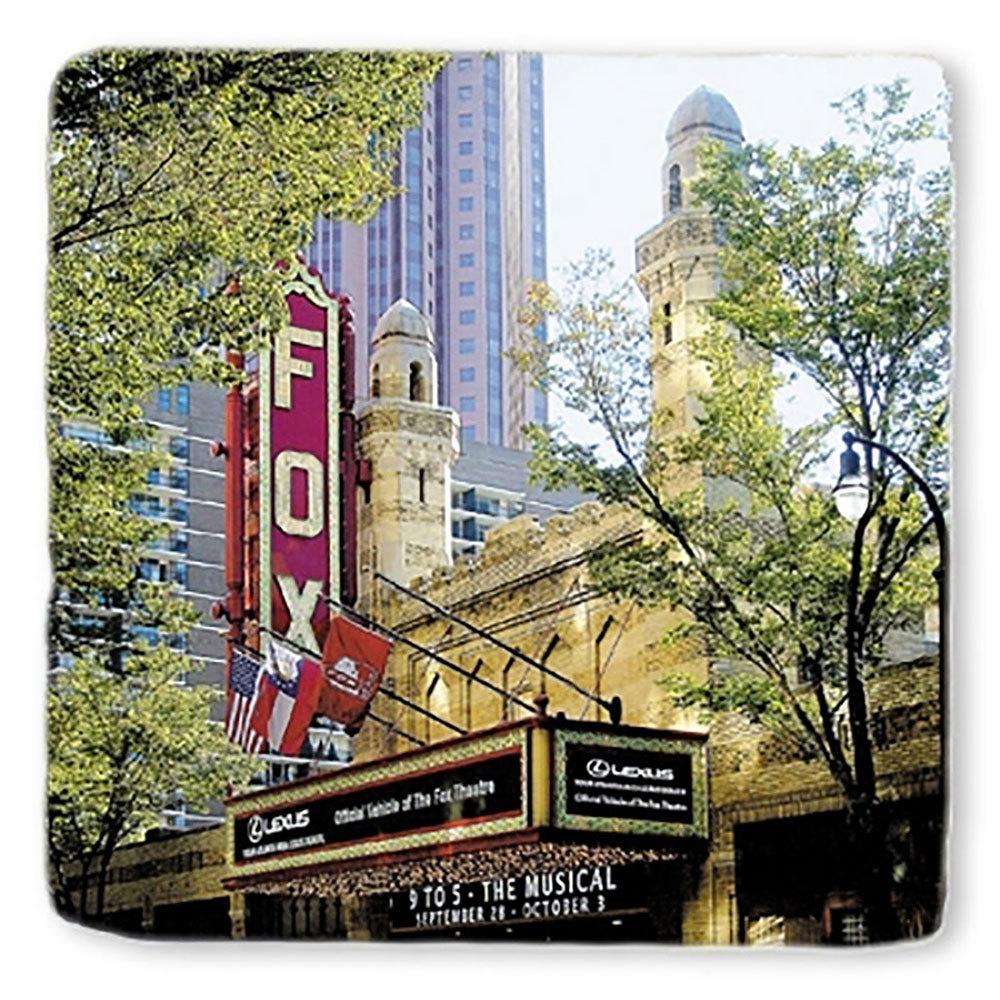 Fox Theatre Marble Coasters