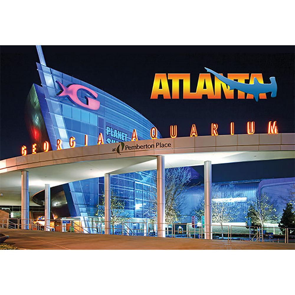 Georgia Aquarium Post Card