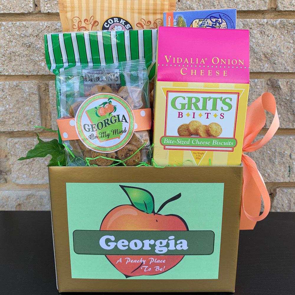 Georgia Peach Gift Basket