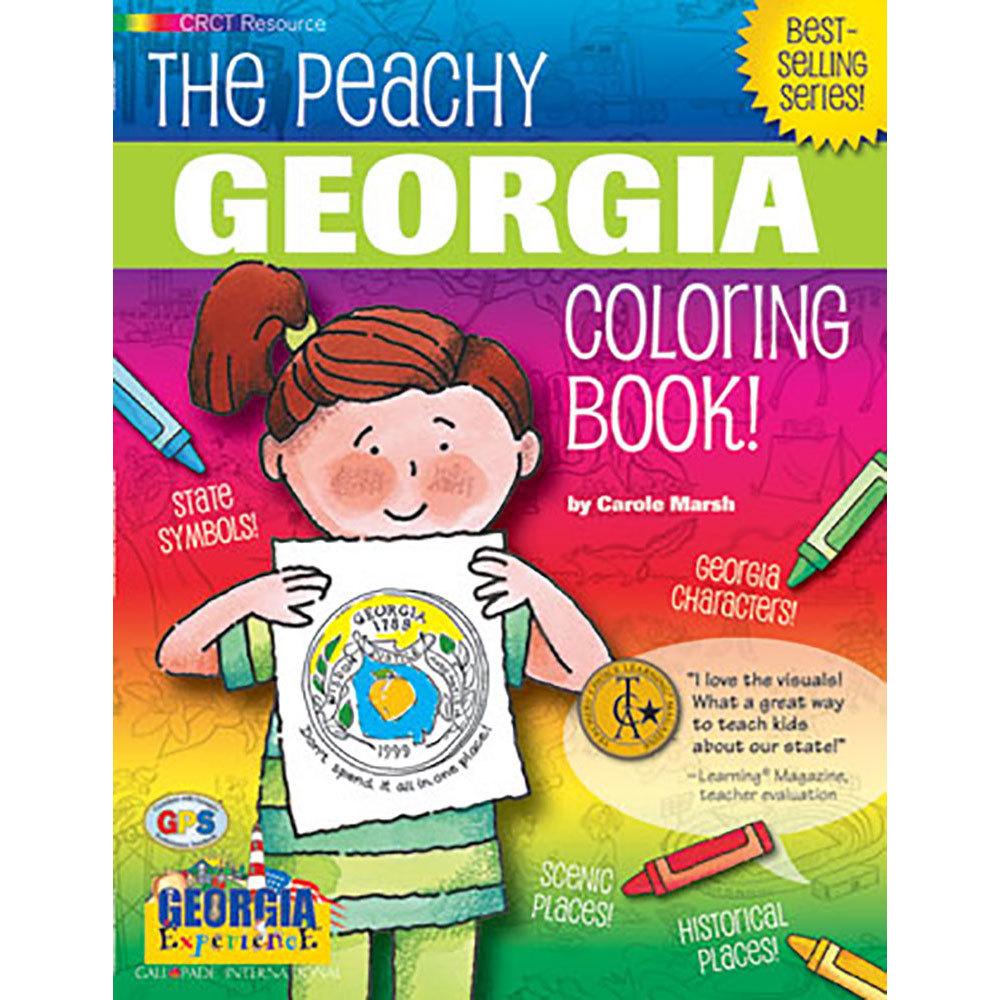 Georgia Peachy Coloring Book