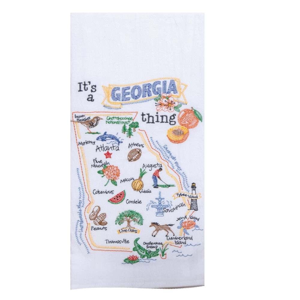 It's A Georgia Thing Kitchen Towel