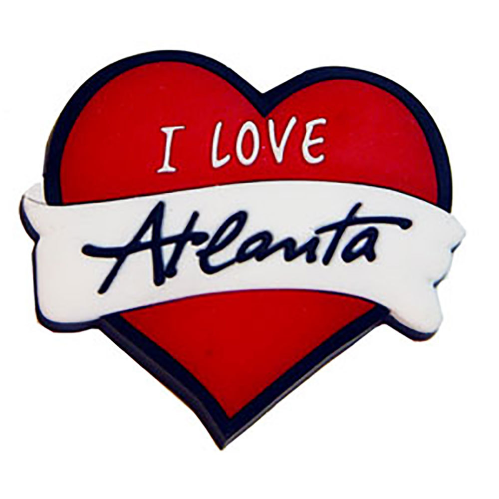 Heart of Atlanta Souvenir Magnet