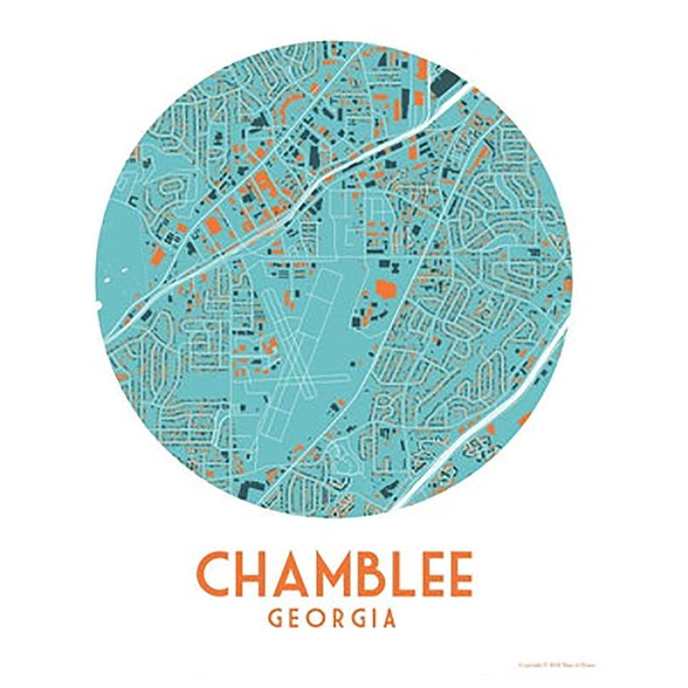 Chamblee Map Print