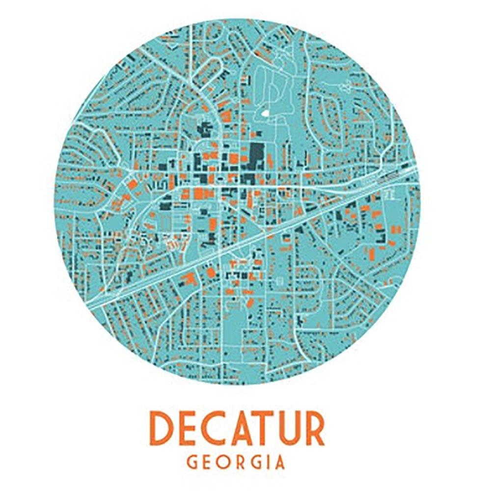 Decatur Map Print