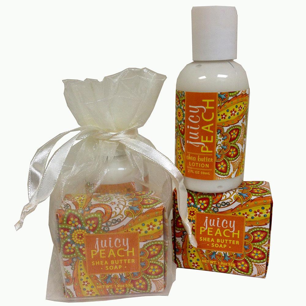 Juicy Peach Mini Bath Set