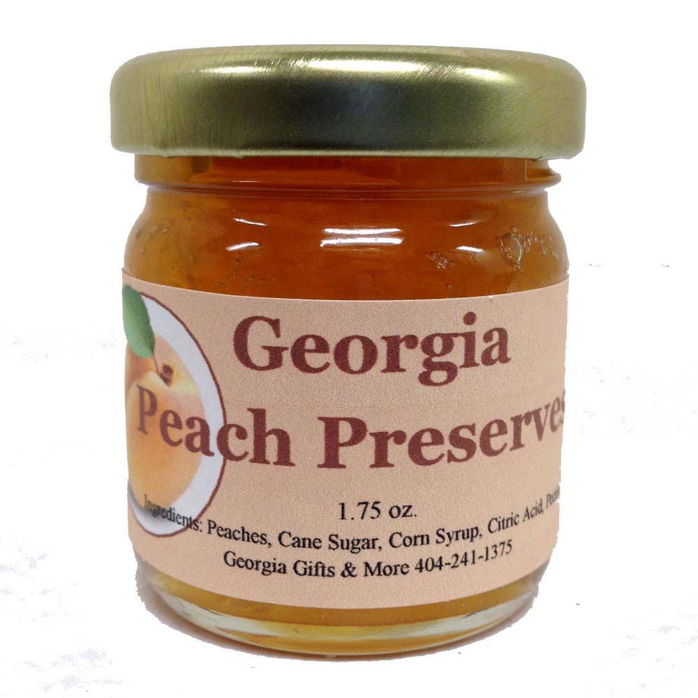 Georgia Peach Preserves 2oz.