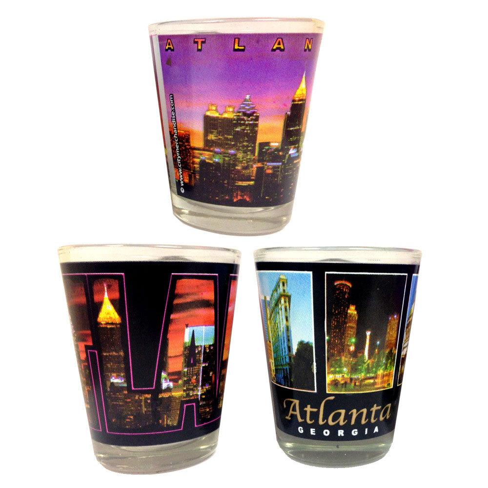 Atlanta Shot Glass Trio Set