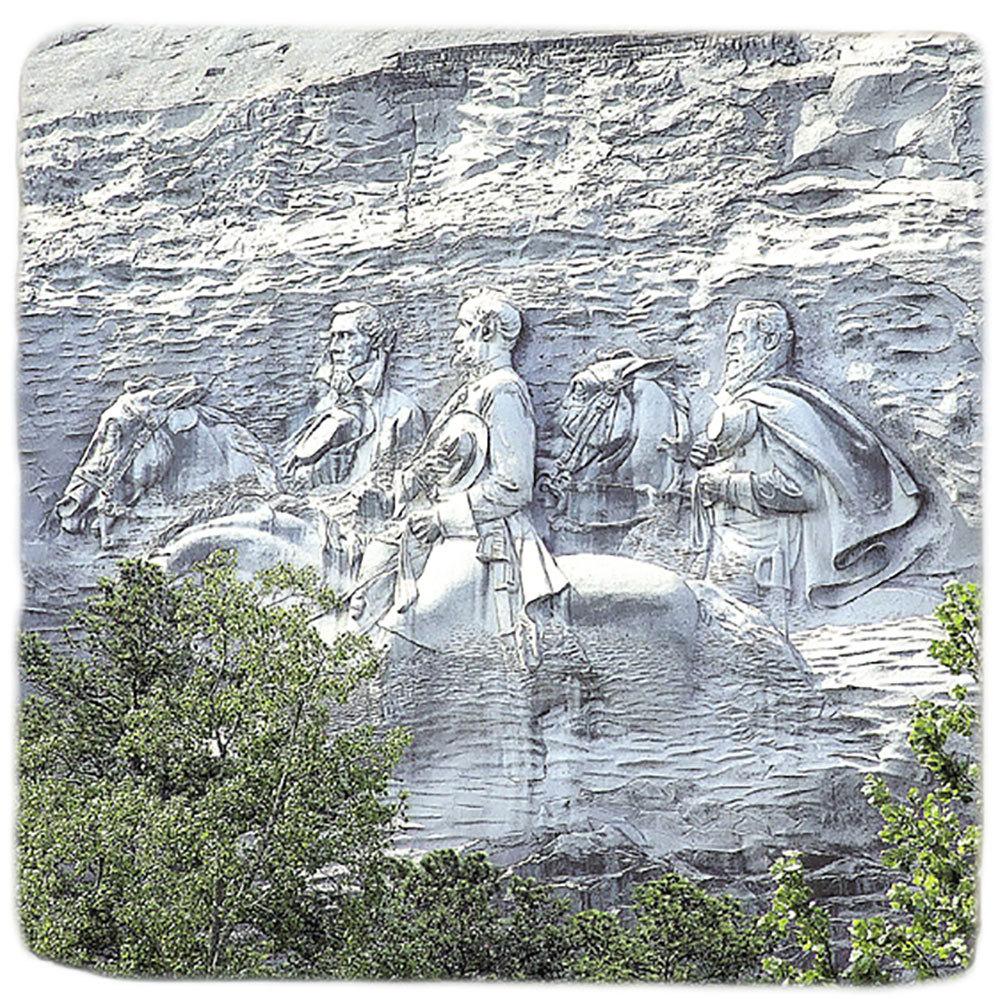 Stone Mountain Souvenir Marble Coaster