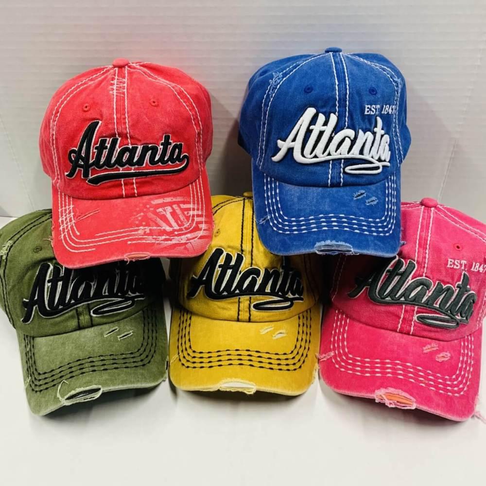 Atlanta Vintage Baseball Cap