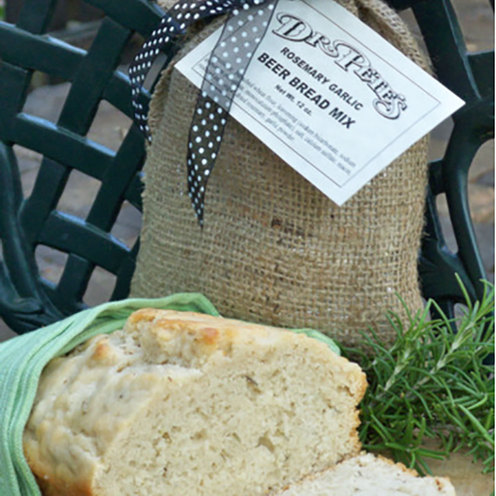 Dr. Pete's Rosemary Garlic Beer Bread Mix