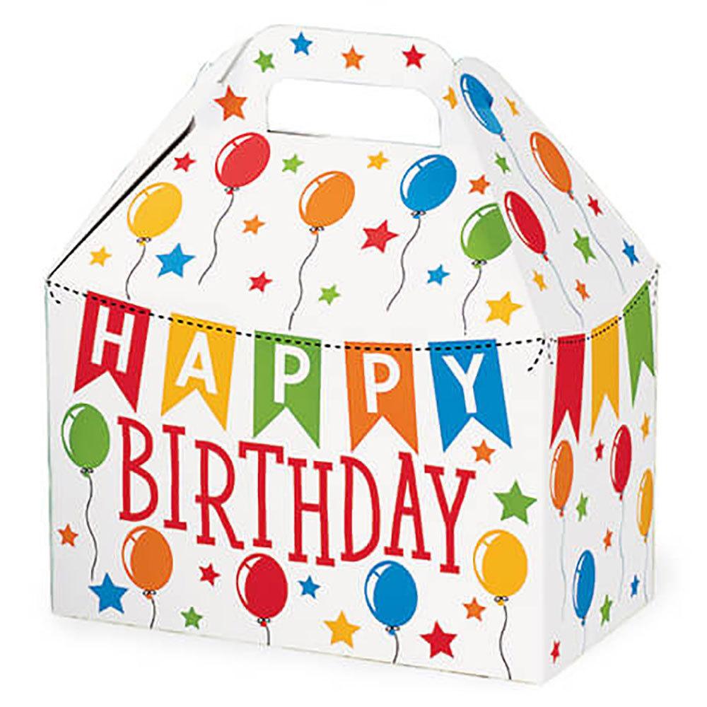 Birthday Theme Gable Box