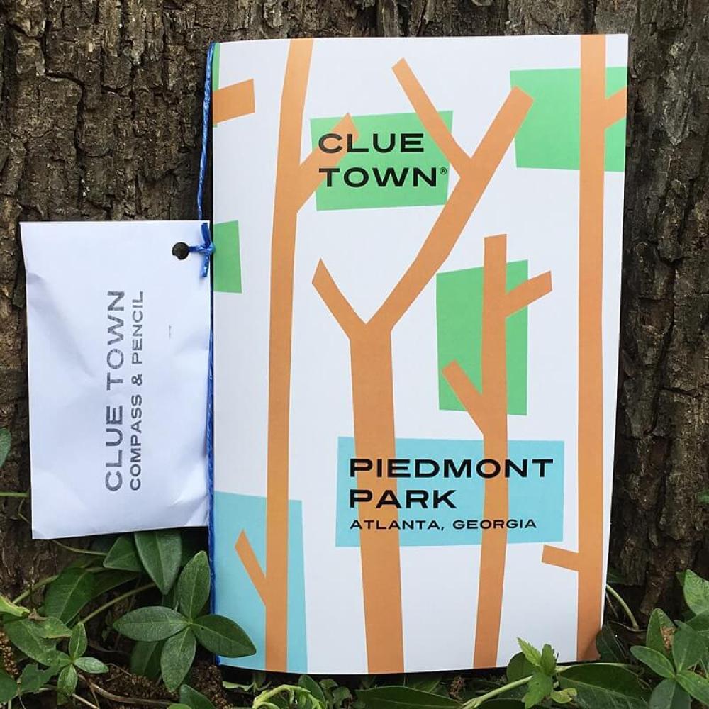 Clue Town Piedmont Park Adventure Book