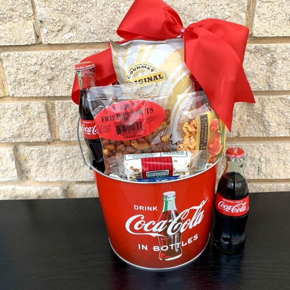 Coke and a Smile Gift Basket