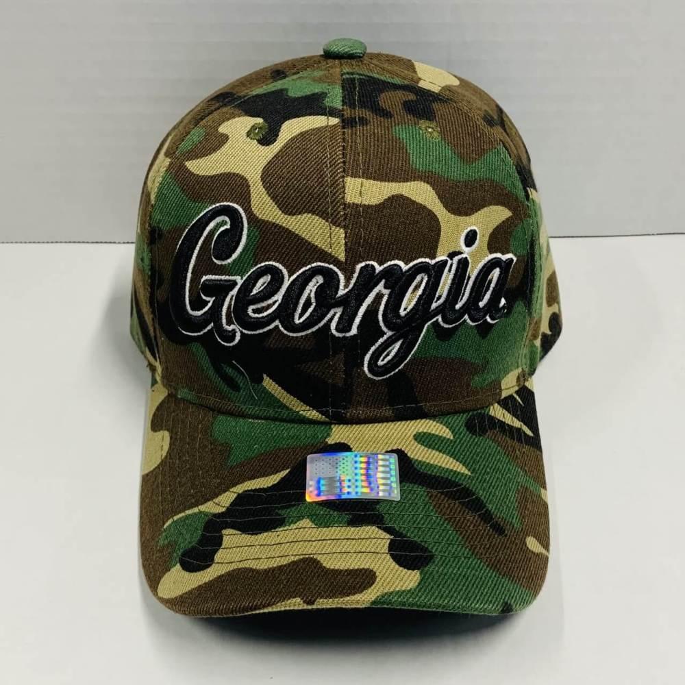 Georgia Camouflage Baseball Cap