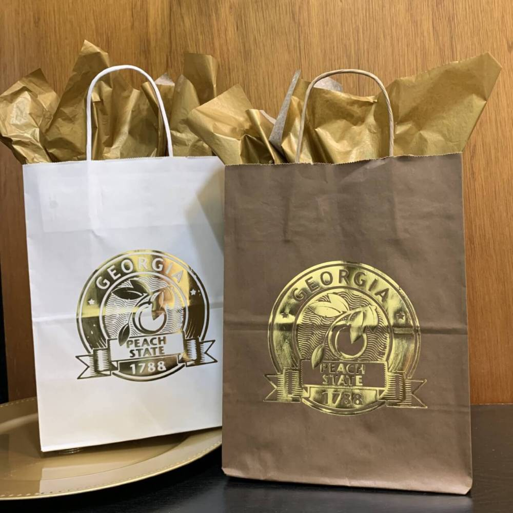 Georgia Gold Gift Bag