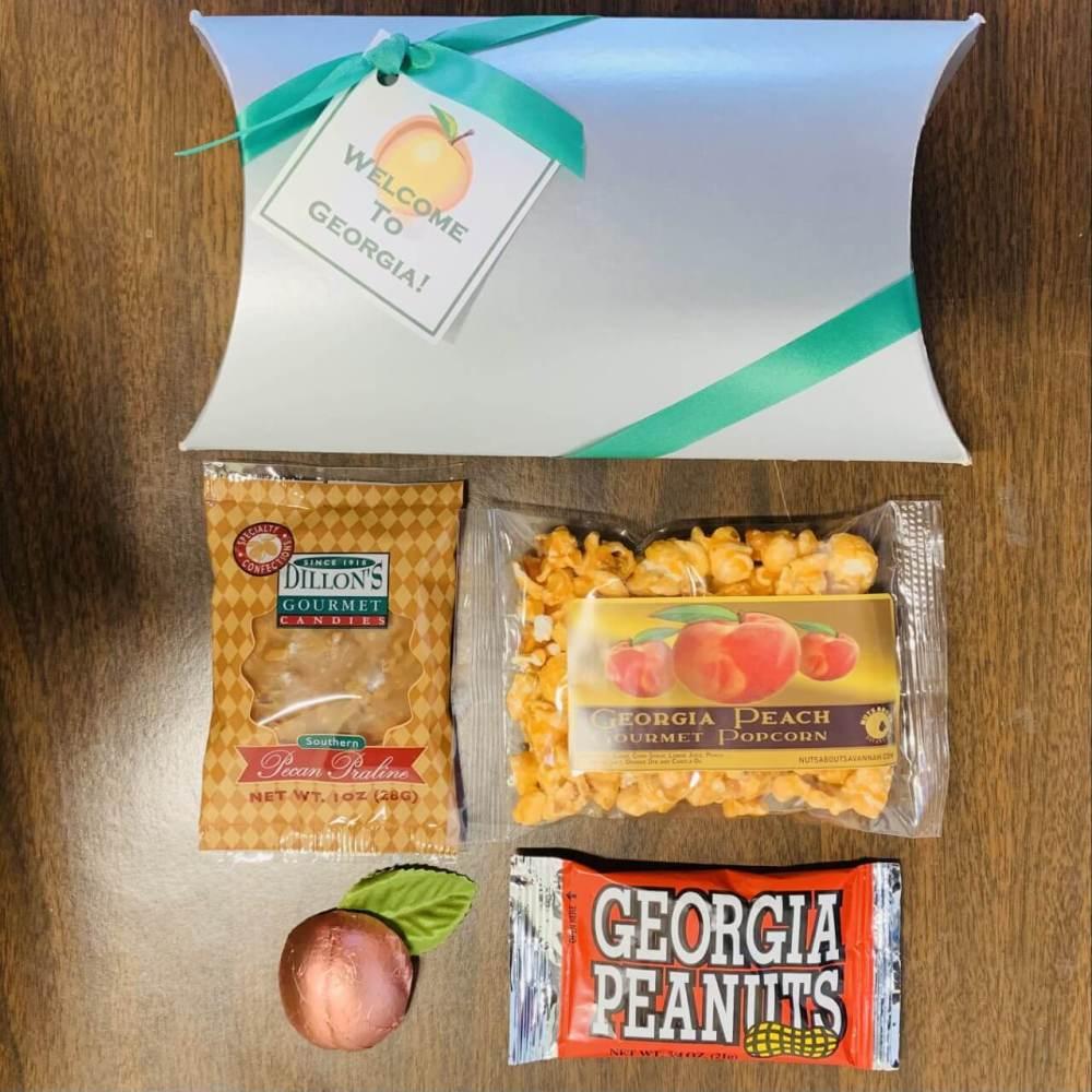 Georgia Greetings Welcome Gift Box