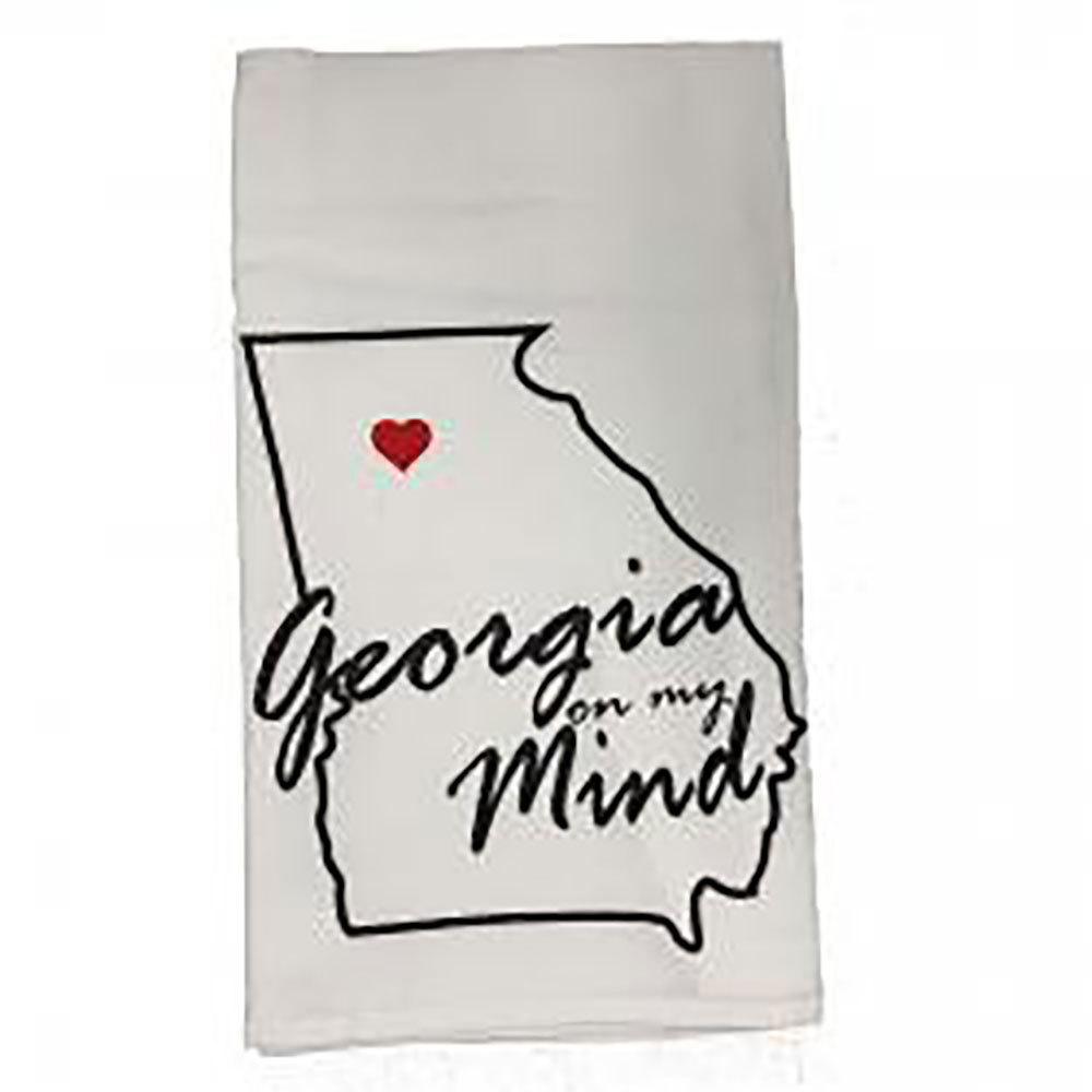 Georgia On My Mind Tea Towel