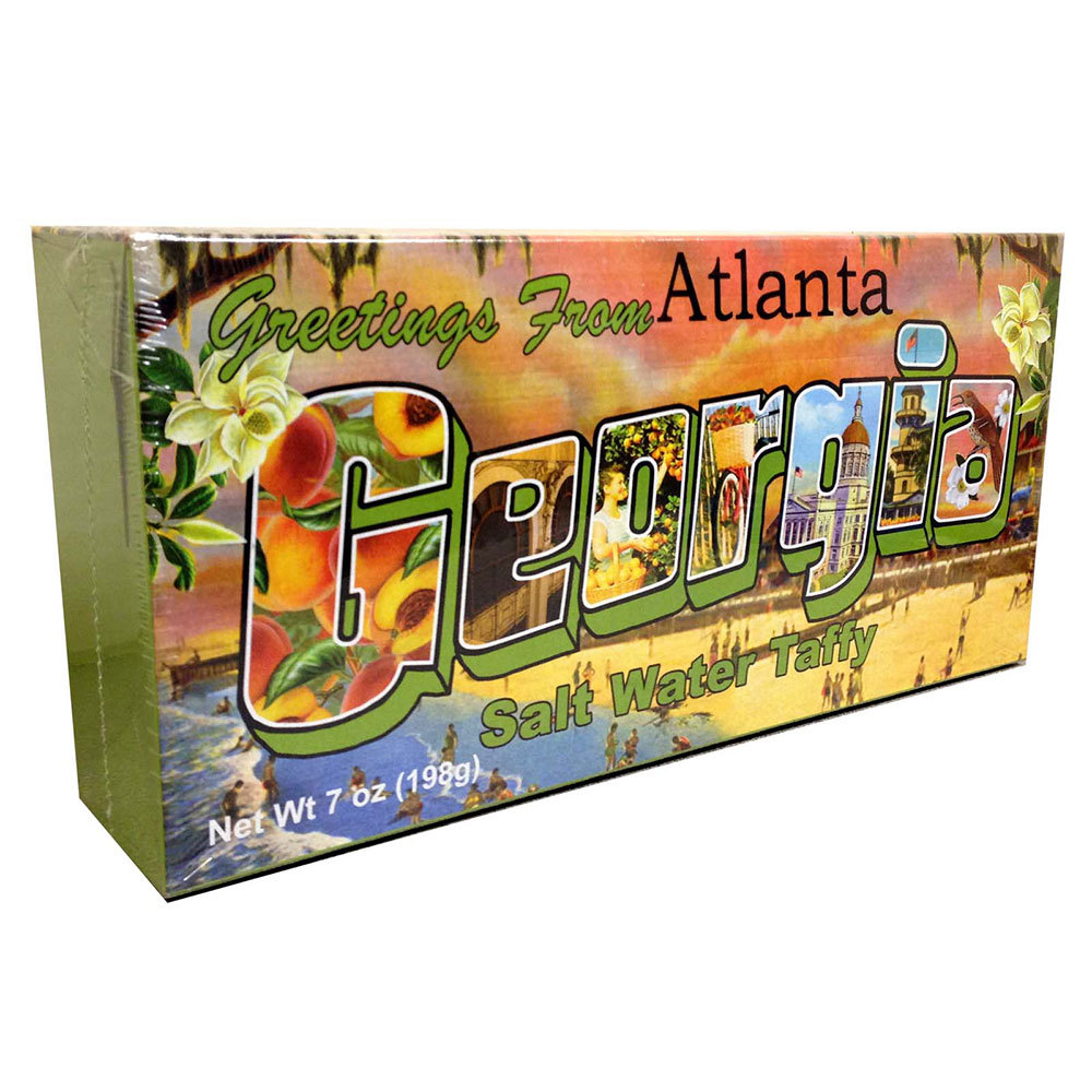 Georgia Souvenir Taffy Box