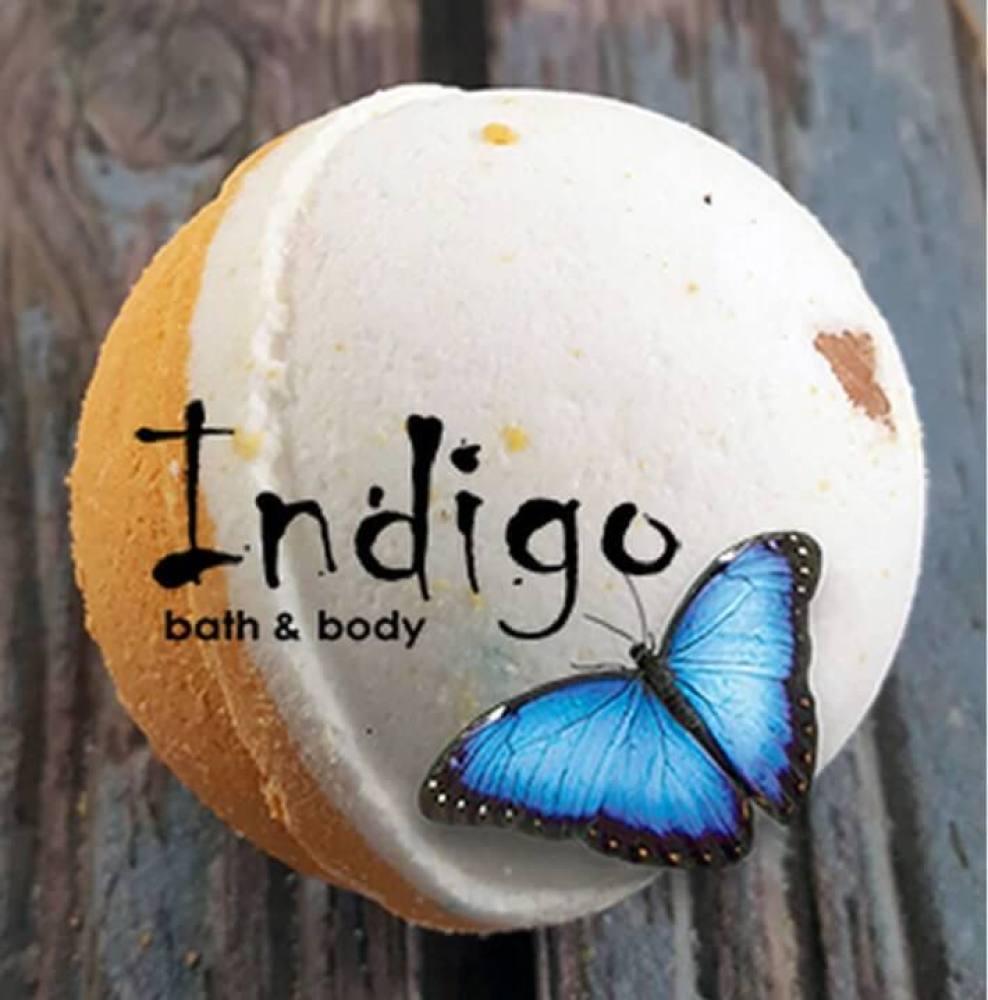Indigo Oatmeal Milk Honey Bath Bomb
